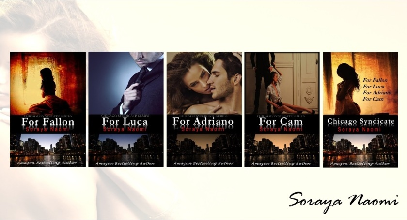 Banner Soraya Naomi Books - Chicago Syndicate series