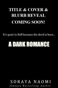 Teaser Cover a DARK ROMANCE