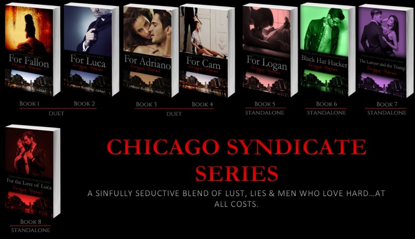 Banner Chicago Syndicate series Book 1-8